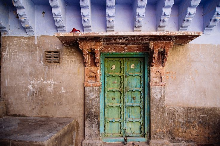 """Home Sweet Home - One of the many colourful entrances to peoples homes in Jodhpur, Rajasthan, India.  <a href=""""http://www.drewhopperphotography.com"""">Website</a>  Follow my other social platforms:  <a href=""""https://www.facebook.com/DrewHopperPhotography/"""">Facebook</a>  <a href=""""https://www.instagram.com/drewhopper/"""">Instagram</a>  <a href=""""https://twitter.com/DrewHopperPhoto"""">Twitter</a>  <a href=""""http://drewhopper.deviantart.com/"""">DeviantART</a>  <a…"""