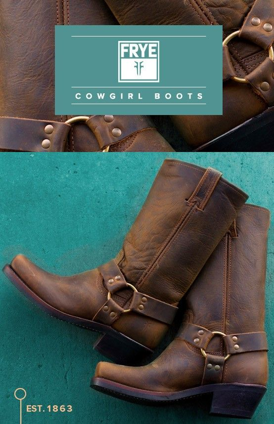 Boots with history  http://www.countryoutfitter.com/frye/cowboy-boots/womens
