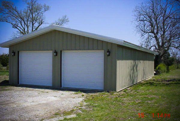 3 Car Metal Garage Kits Metal Garage Workshop Excel Metal Building Systems Steel
