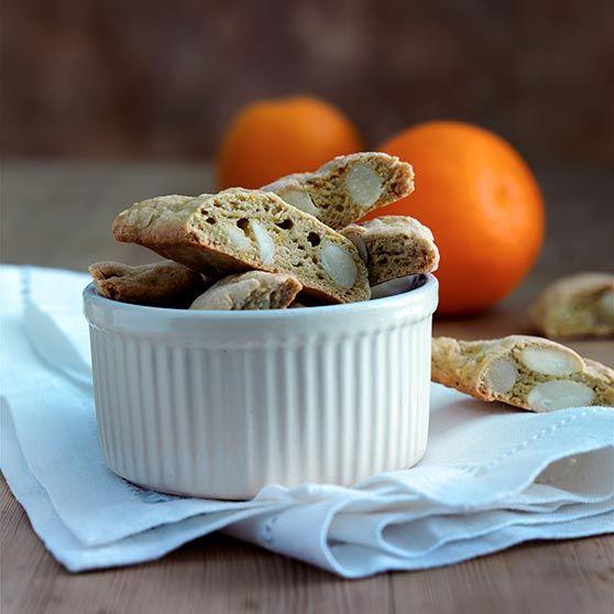 Appelsin-Cantuccini (italienske biscotti)