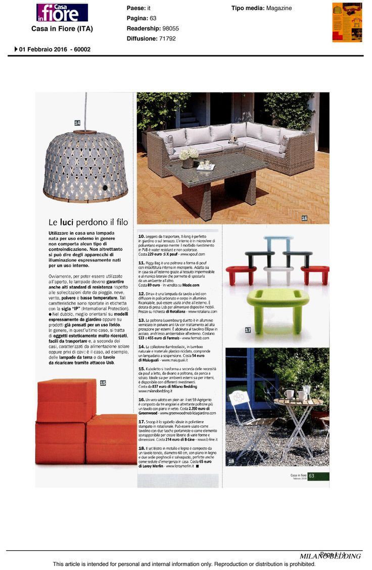Kuboletto is a system for indoor and #outdoor by Enzo Palmisciano. You can see it on Casa in Fiore, Italian magazine.
