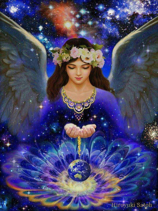 Angel Blessings for a Healthy Earth