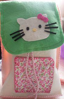 keçe sırt çantası üç boyutlu :P