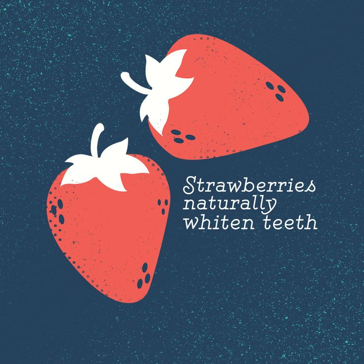 THE MALIC ACID in strawberries removes surface stains from teeth and whitens enamel! #parkridgedentist #teethwhitening #cosmeticdentist