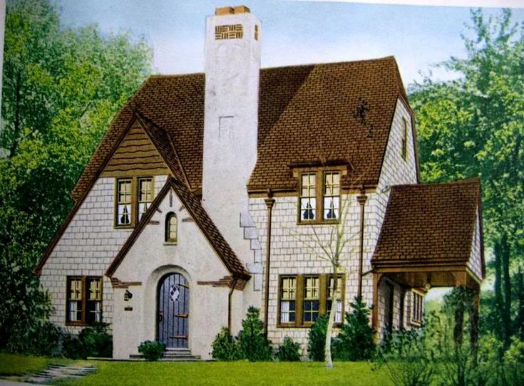 Pin by wayne cassman on architectural style pinterest for Tudor revival house plans