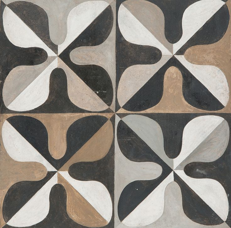Gio Ponti - Drawing inspiration from designs of  the great Italian architect, Decorum Est has played with different colour hues perfect for a variety of interiors.