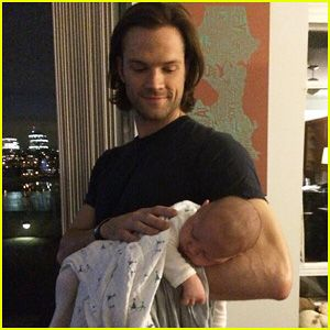 Shepherd Padalecki: Jared Padalecki's New Son <3 Is there anything sexier than a beautiful man holding his baby?