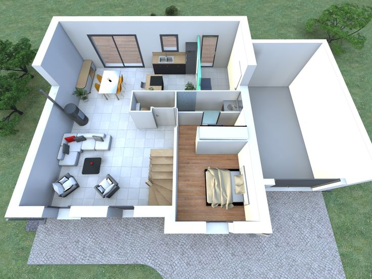 48 best images about quel int rieur pour votre maison for Maison interieur 3d