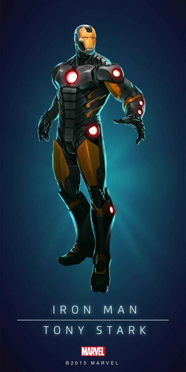 Iron man armadura omega