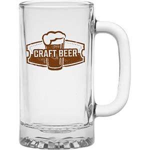 Lionfish    16oz   Glass Mug   Custom printed  36 per case- minimum purchase of two cases (72 mugs)