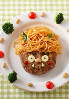 かわいい鬼デコハンバーグ by おいしいコープ [クックパッド] 簡単おいしいみんなのレシピが230万品