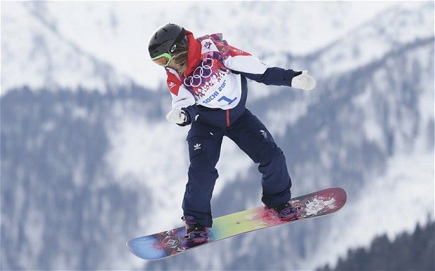 Jenny Jones GB olympic bronze medalist Sochi 2014 :-))))))