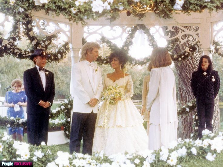 See New Photos of Elizabeth Taylor at Her Final Wedding http://www.people.com/article/elizabeth-taylor-wedding-photos-michael-jackson