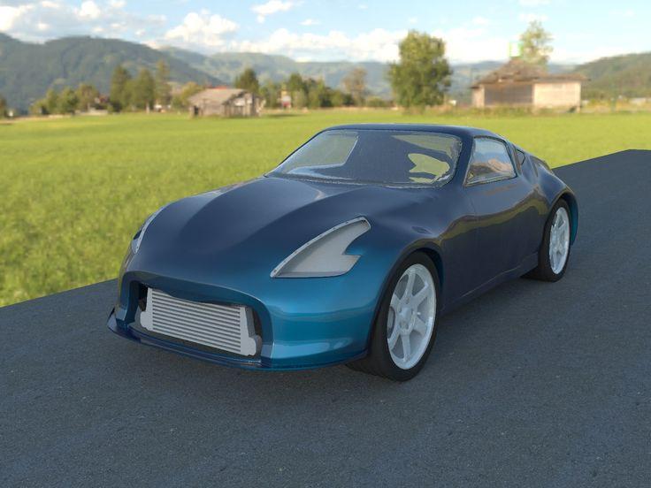 Nissan 370z Corona renderer