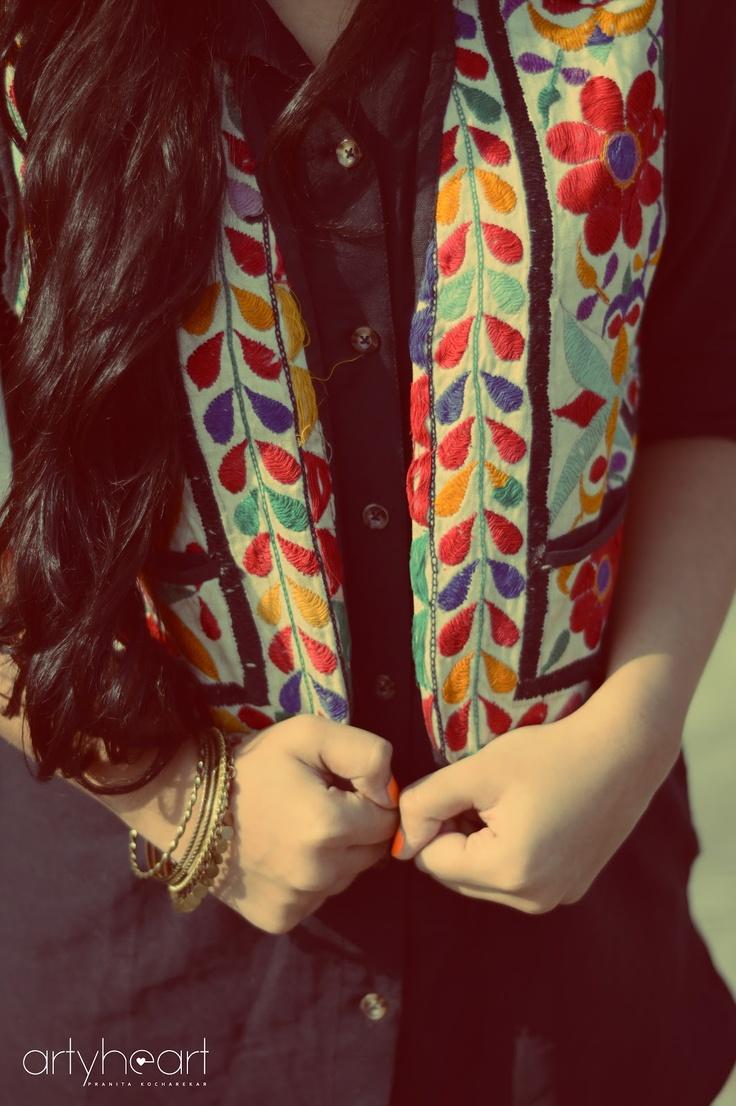 Artyheart Kashmir jacket vintage