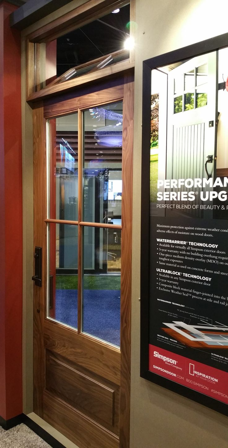 37504 with 37752 Transom in Walnut & 8 best Specialty Interior Doors images on Pinterest | Indoor gates ...