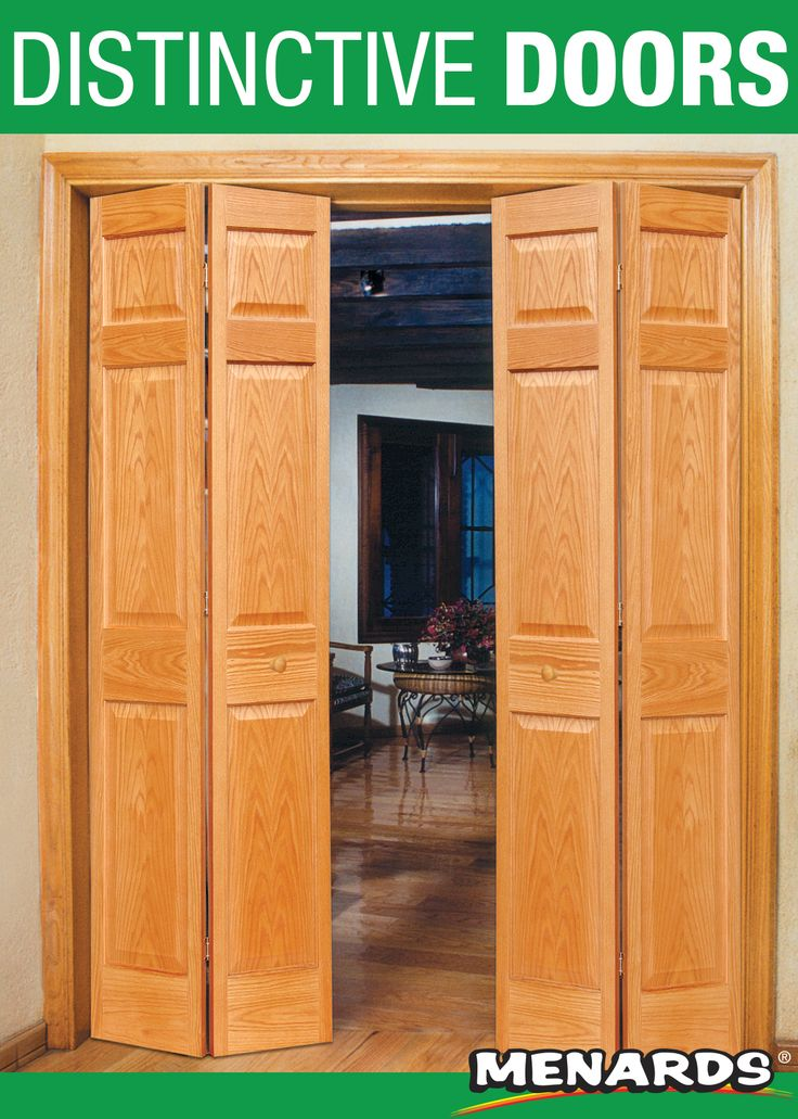 Update your space with a Mastercraft® closet door! This