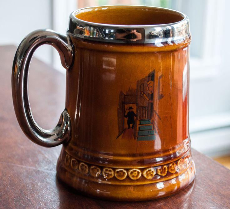 Chop à bière en céramique fait par la compagnie Lord Nelson poterie Angleterre de la boutique 3rvintages sur Etsy
