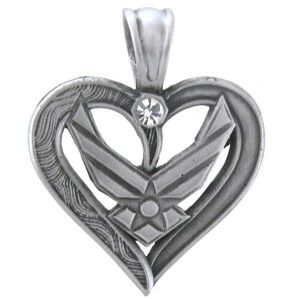 Air Force Necklace   Military.com Apparel and Gear Store this is really pretty!