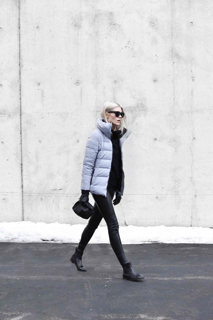 Snowman NYC Puffy Coat | blairbadge.com #baggu #minimalist #aritzia