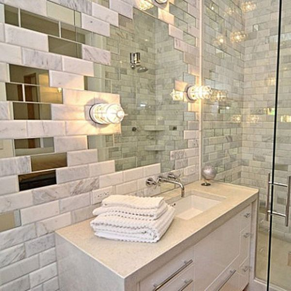 Unusual Design Mirror Tiles For Walls Modern House Mirrored