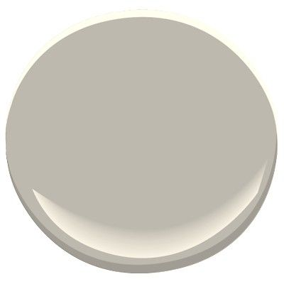 Benjamin Moore Thunder: warm, neutral, soft gray. 89.4 match to Sherwin William's Anew Gray, 89.0 match to Sherwin William's Requisite Gray and 89.1 match to Benjamin Moore Cape Hatteras Sand