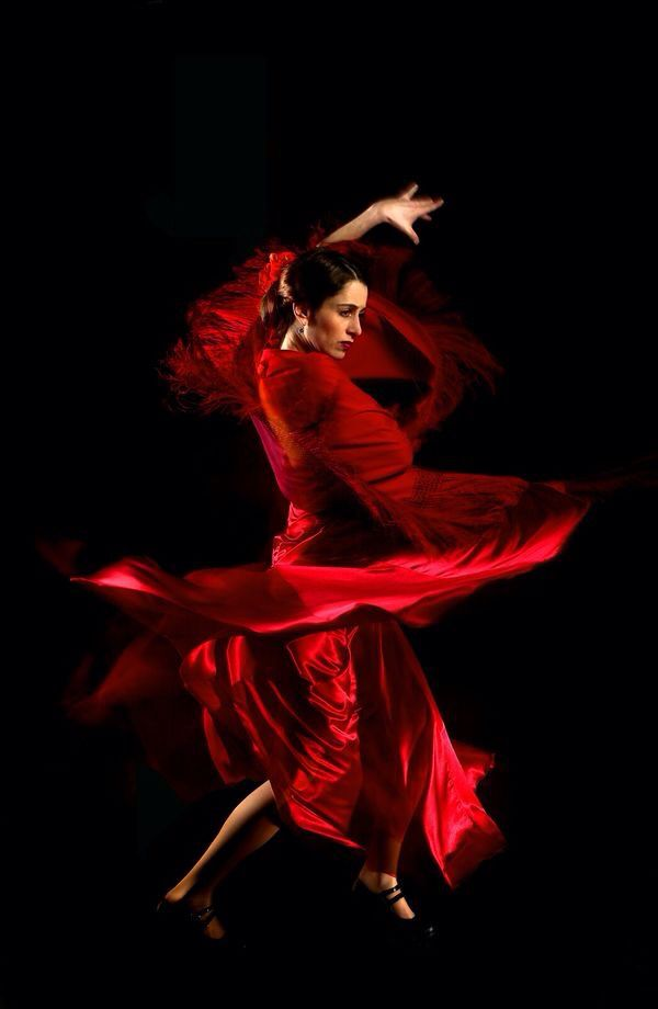 танцовщица фламенко картинки укладывается голове, как