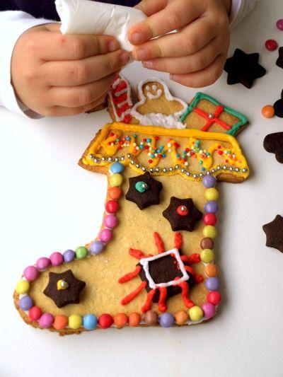 Calza biscotto della Befana di Tempodicottura.it di Natalia Cattelani #Befana #ricetta #bambini #Italia