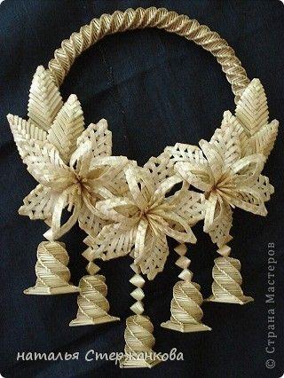 Поделка изделие Плетение Моя соломка Соломка фото 9