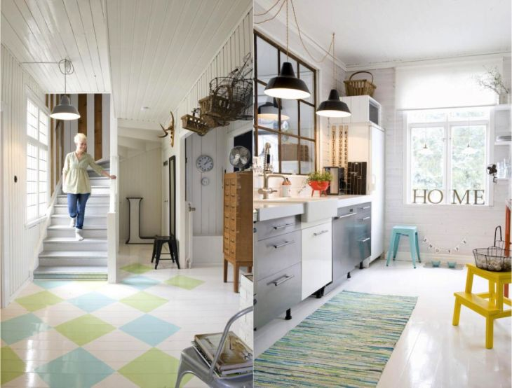 Live Here Eat That Scandinavia Modern Vintage Home2 - pictures, photos, images