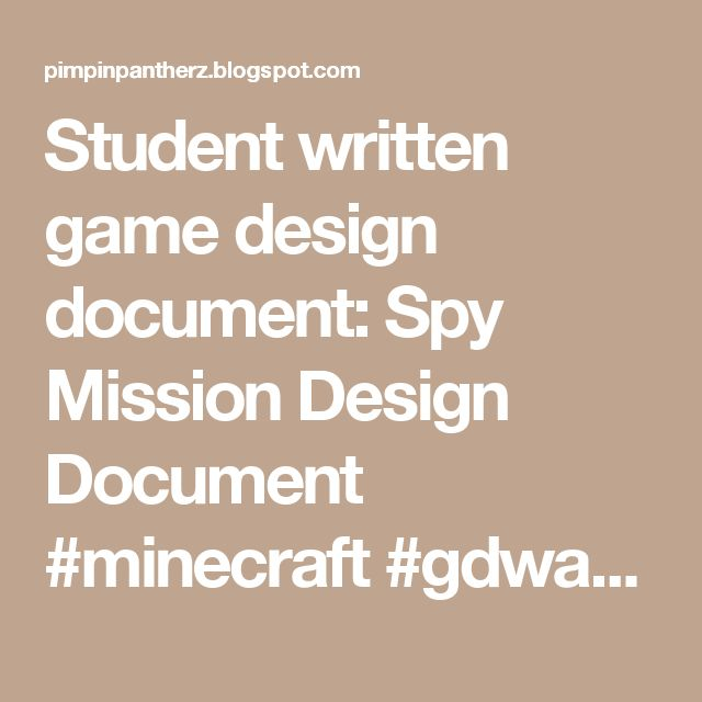 Best 25+ Game Design Document Ideas On Pinterest | Video Game