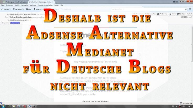 Darum ist die Google Adsense Alternative Medianet von Yahoo und Bing für...