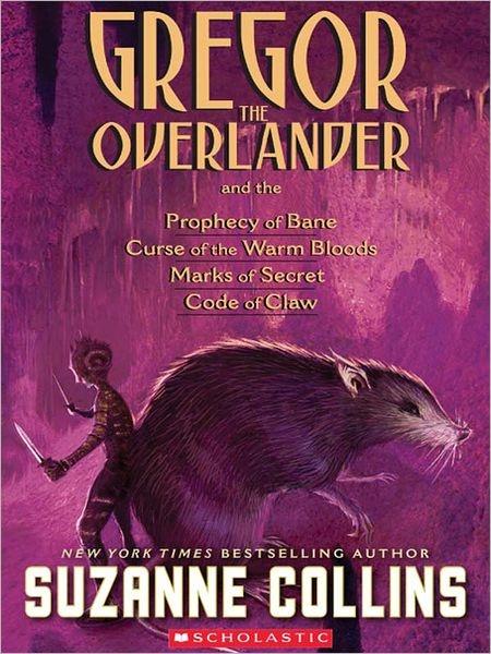 Gregor The Overlander Collection Books 1 5 Nook Book