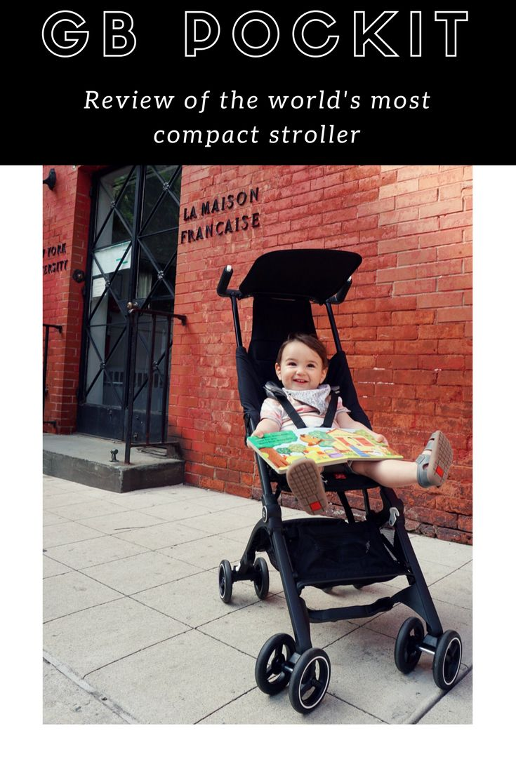 GB Pockit Review of the World's Smallest Travel Stroller