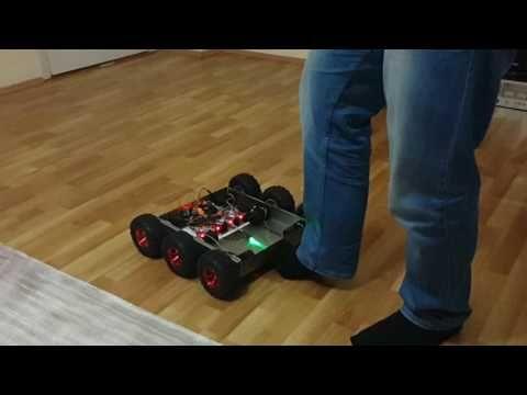 Hakan keşif aracı Arduino www.mekatronikegitim.com