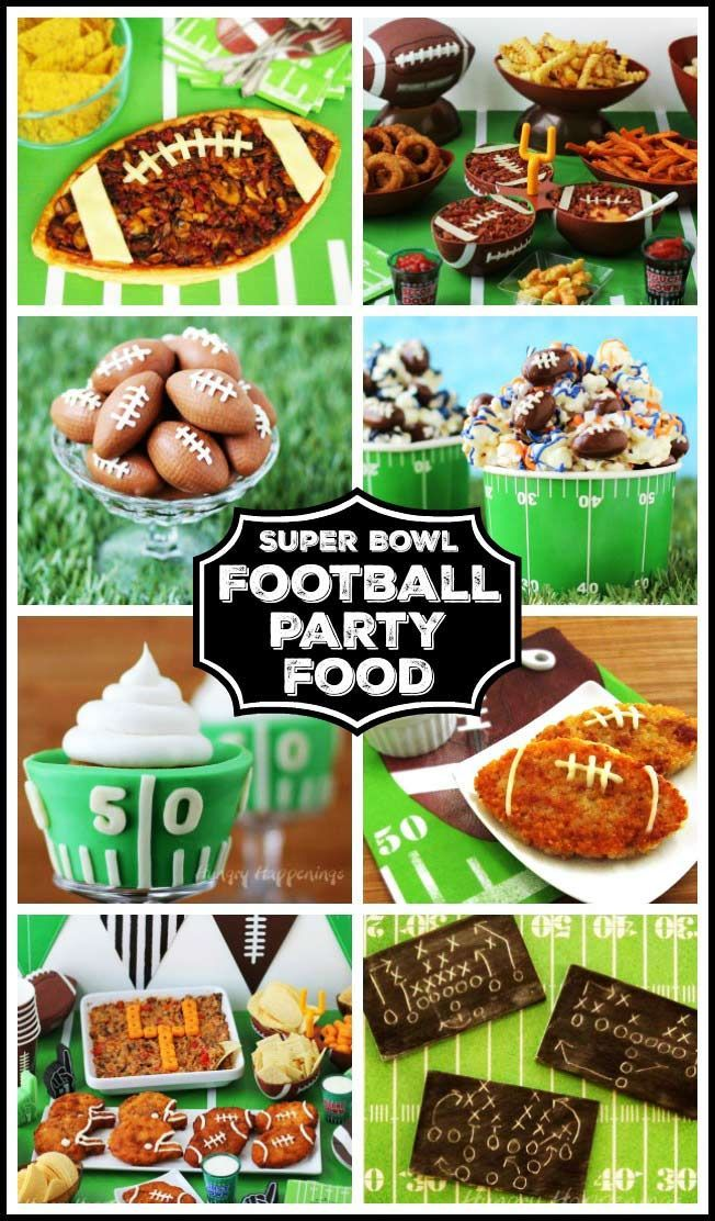 Your party guests will cheer when you serve them some of these amazing Super Bowl Recipes. Each of these fun party food ideas will score big during any football themed event.