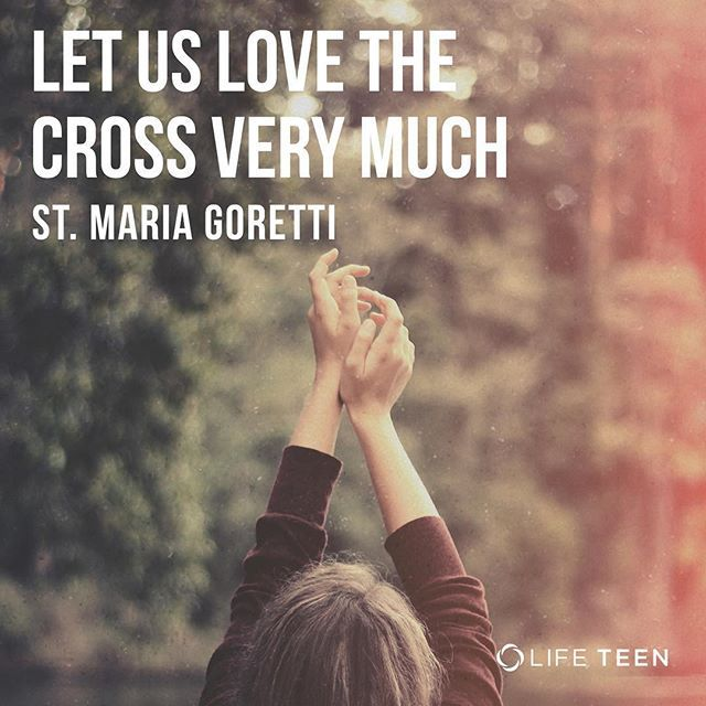 "St. Maria Goretti was 11 years old when her 20 year old next neighbor Alessandro demanded her virginity by threatening her with violence. She was able to prevent him from violating her but in result she was stabbed fourteen times. She managed to live a few more days in the hospital. Her last words were, ""I forgive Alessandro Serenelli … and I want him with me in heaven forever."" While Alessandro was in prison, St. Maria Goretti appeared to him in a dream offering him flowers. When he woke up…"