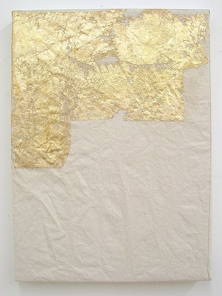 Carrie Pollack, Present 3, 2010.Wall Art, Gold Leaf, Diy Art, Gold Foil, Carrie Pollack, Home Art, Leaf Art, Diy Home, Nature Beautiful