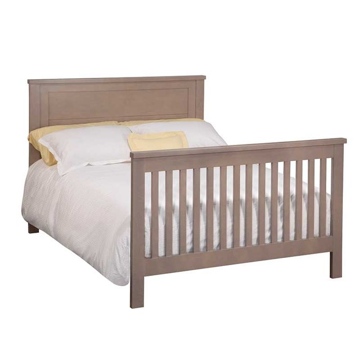 Double Bed (converted From Baby Crib)   Part Of Mathew U0026 Lauren Childrenu0027s  Furniture