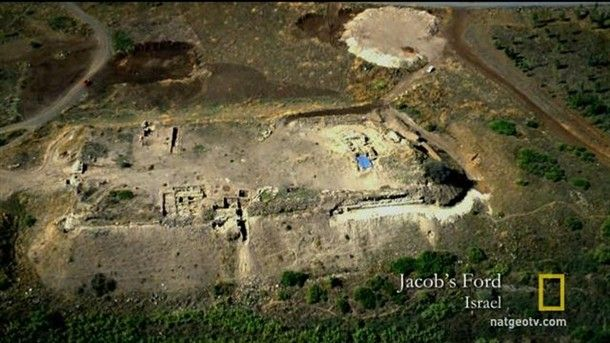Archaeologists at Jacob's Ford in Israel unearthed a mass grave filled with the skeletons of warriors of a massive battle.