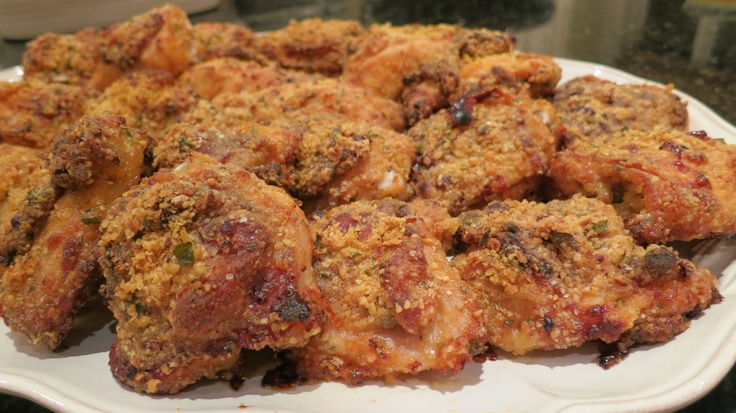 "Baked ""fried"" Chicken"
