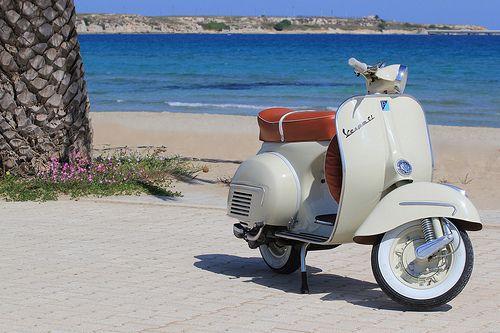 Piaggio Vespa GL - 1963 | Sapore di mare.. sapore di vespa! | Flickr