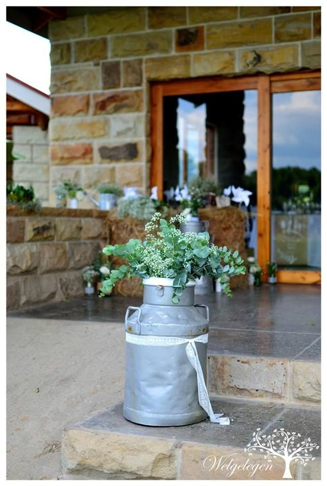 Welgelegen Wedding Venue - old milk cans