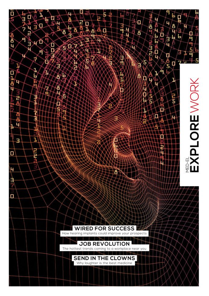 The 5th Edition of EXPLORE Magazine is here. This edition looks at the topic of work in our society and the impact hearing loss can have on individuals, as well as hearing implant users who have achieved their career goals. You can go and download it here!