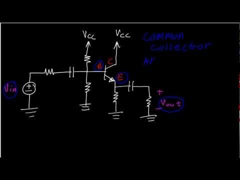 BJT Amplifiers: Common Base, Common Emitter or Common Collector (Emitter Follower) Identification - http://audio.tronnixx.com/uncategorized/bjt-amplifiers-common-base-common-emitter-or-common-collector-emitter-follower-identification/