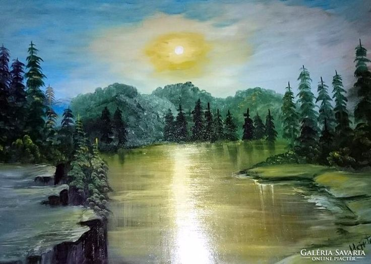 Oil painting, 50 x 70