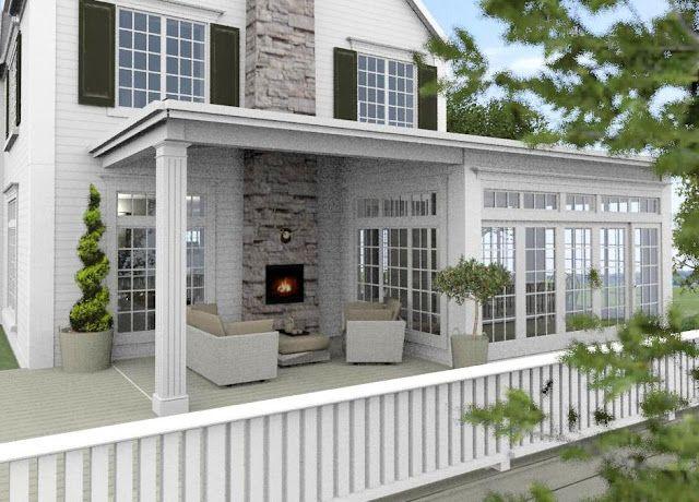 Dreams & Coffees arkitekt- och projektblogg: Från dröm till verklighet - New England huset i skärgården är klart!