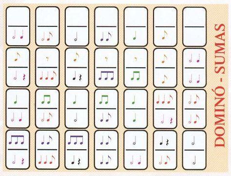 Las Matemáticas y la Música: Domino Musical