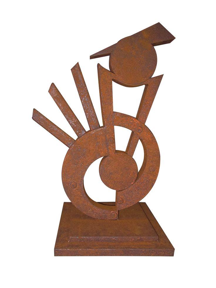 Escultura ojo de mesa 75 cm H x 30 cm W / $700.000