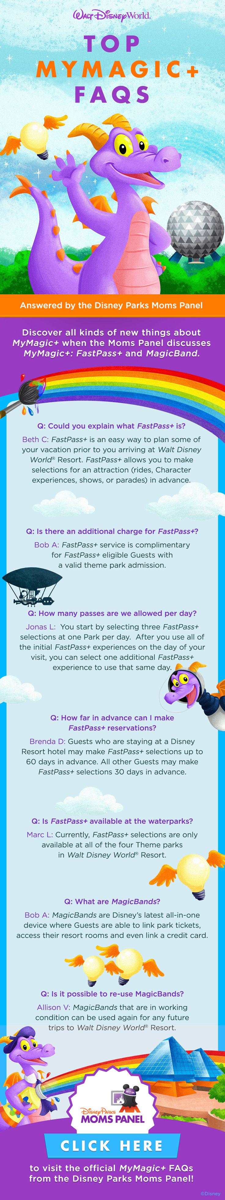The Disney Parks Moms Panel answers questions about MyMagic+ at Walt Disney World!